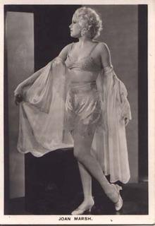Film Star Photo Joan Marsh