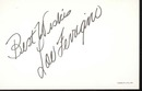 Lou Ferrigino postcard signed Best Wishes