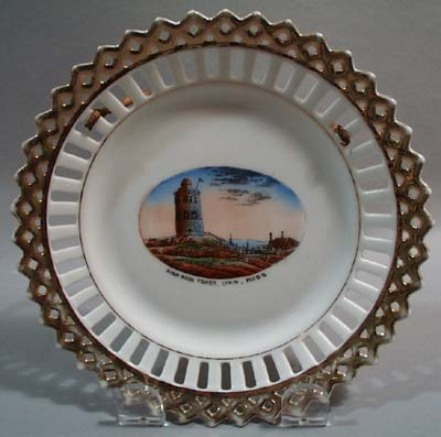 Germany Porcelain Plate High Rock  Mass
