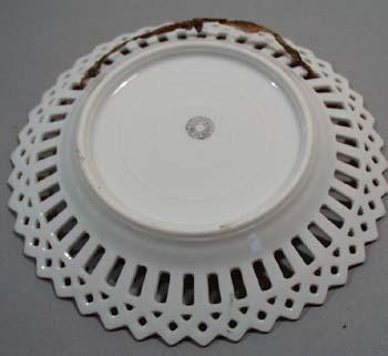 Germany Porcelain Plate High Rock  Mass
