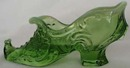 Mosser Glass Slipper,Green Breen Opal
