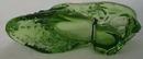 Mosser Glass Slipper,Green Breen Opal