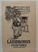 Dec 1894 Santa with Lundborgs Perfumes Ad