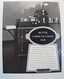 1938 Mimeograph Machine Advertisment