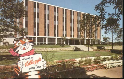Kellogg's Company Bldg Postcard