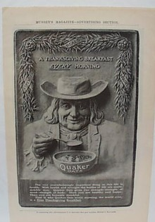 Quaker Oat Ad 1905