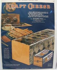 Kraft Cheese 1926 Ad