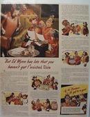 Elsie ad, with  Ed Wynn 1944,