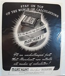 Marchant Silent Speed 1942 Calculator Ad