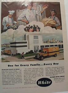 White Motor Bread Truck 12-2-46 Ad