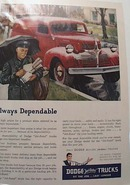 Dodge175 Chassis Model Market HaulingTruck Ad