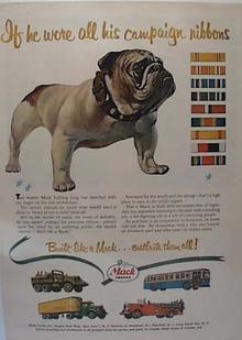 Mack Truck Ad 1951