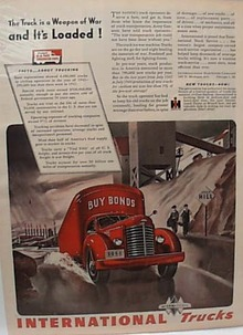 International Heavy Truck Says Buy Bonds 1944