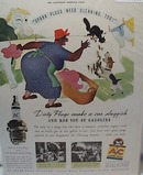 1938 Harold Huske AC Spark Plug Ad