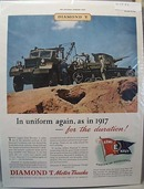 Diamond T Motor Trucks 1942 Ad