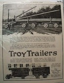 1918 Troy Trailer Ad