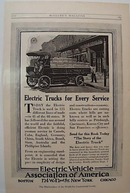 1918 Electric Vehicle Association Ad