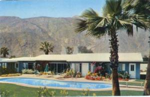 Dinah Shore , George Montgomery Palm Springs home postcard