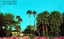 Red Skelton Palm Spings Home Postcard, Neat!!