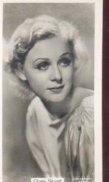 Gloria Stuart Film Star Photo Card 1937