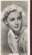 Gloria Stuart Film Star Photo Card 1937