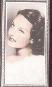 Rochelle Hudson Film Star Tinted Photo Card