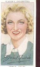 Gracie Fields  Film Star Tinted Card 1938