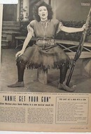 Ethel Merman featured Annie Get your Gun, won