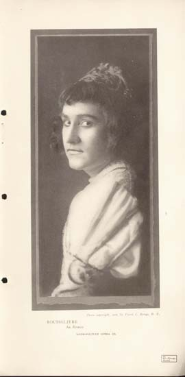 Magazine Picture of Rousseliere, March 1907