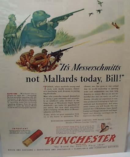 1942 Winchester Ad