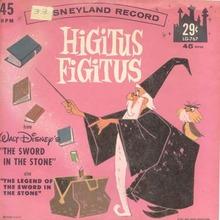 Higitus Figitus, Walt Disney Prod., Record