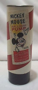 Mickey Mouse Balloon Pump,Cardboard