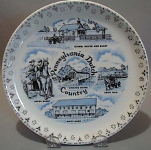 Mini Souvineer State Plate PA Dutch Country