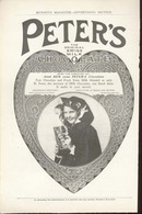 Peter's Chocolate Pre 1900's Ad