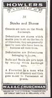 Howler's 1937 Occupational Card Stocks