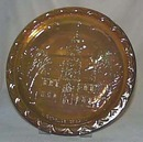 Indiana glass bicentennial series plate