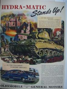 Mag/ad.Oldsmobile auto