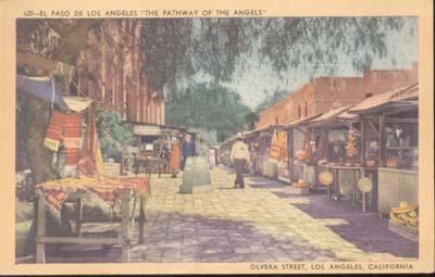 Postcard El Paso De Los Angeles