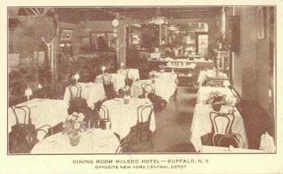 McLeod Hotel New York Postcard