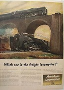 American Locomotive 1945 Ad