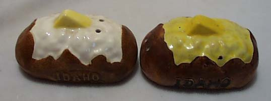 Idaho Potato S & P Shakers