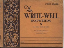 Write-Well Handwriting First Grade Book