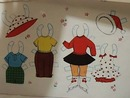 Dainty Doll Paper Doll & Clothes