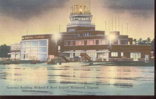 Richard Byrd Richmond Airport Terminal PC