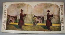 Stereo Card  #46 A Russian Cossack