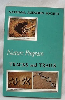 National Audubon 1956 Tracks & Trails Book