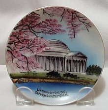 Jefferson Memorial Mini Plate