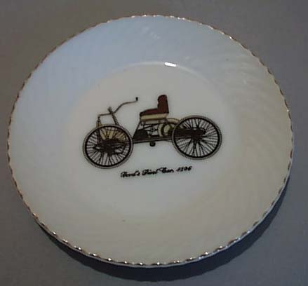 Fords First Ccar 1886 Souvineer Mini Plate
