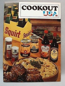 Cookout USA Pamphlet Cookbook