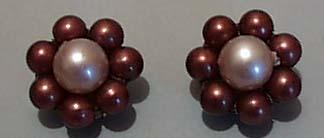 Hong Kong Faux Pearl Earrings